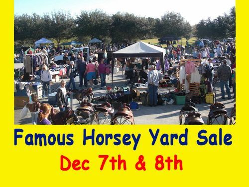 Home of the Famous Horsey Yard Sale!