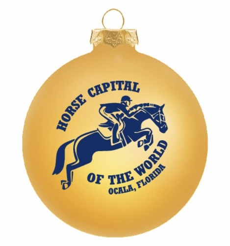 Horse Capital of the World Ornament