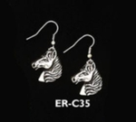 Horse Head Earrings