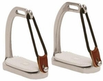 Korsteel Peacock Fillis Knife Edge Safety Stirrup Irons