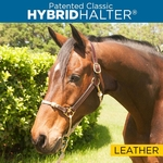 Leather Hybrid Halter