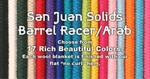 Mayatex San Juan Barrel Racer Solid