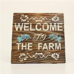 """""""Welcome to the Farm"""" Wall Sign"""