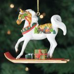 Painted Ponies - Sleigh Ride Ornament