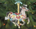 2020 Flourish - Carousel Ornament <br> 21st in Series