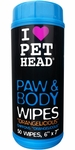 Pet Head� Paw & Body Wipes