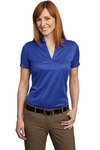 Port Authority Ladies Performance Fine Jacquard Polo <br> <font color=navy> Add Your Logo! </font color=navy>
