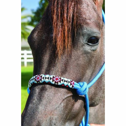 Professional's Choice Beaded Rope Halter