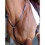Race Leather Yokes or Martingales <BR> <font color=red> Backorder </font color=red>