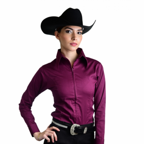 Royal Highness Ladies Long Sleeve Fitted Show Shirt