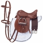 Silver Fox Mini English Tack Set