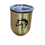 Small Tumbler with Horse Head