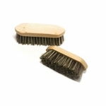 Small wooden dandy brush