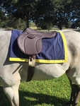 Tack Shack Custom Saddle Towel with Border