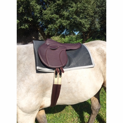 Tack Shack Rubber Non Slip Saddle Towel with Trim
