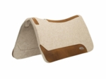 "Weaver Contoured Wool Blend Felt Saddle Pad <br> 1"" 30x30"
