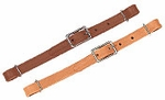 Weaver Horizons Straight Leather Curb Strap