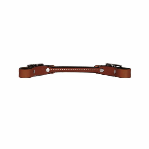 Weaver Rounded Bridle Leather Curb Strap