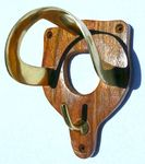 Wood Bridle Hook
