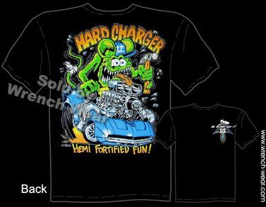 69 Hemi Charger Ratfink T Shirts 1969 Dodge Big Daddy Apparel Ed Roth Tee