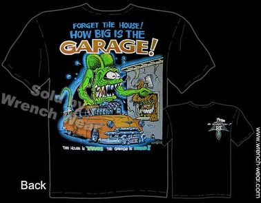 Ratfink T Shirts 1950 Chevy Ed Roth Tee Forget The House Big Daddy Shirts