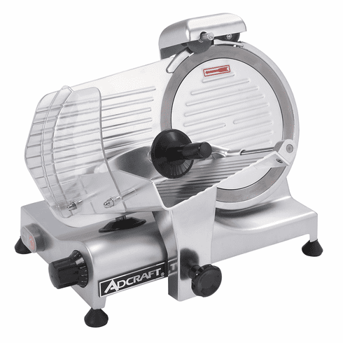 "Adcraft  10"" Light Duty Meat Slicer, Model SL250ES-10"
