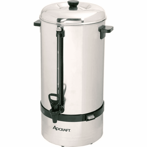 Adcraft 100 Cup Coffee Percolator, Model# CP-100