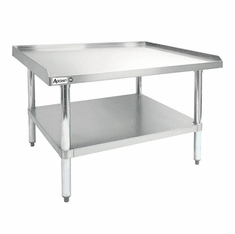 "Adcraft 30"" X 24"" X 24"" Stainless Steel Equipment Stand, Model# ES-3024"
