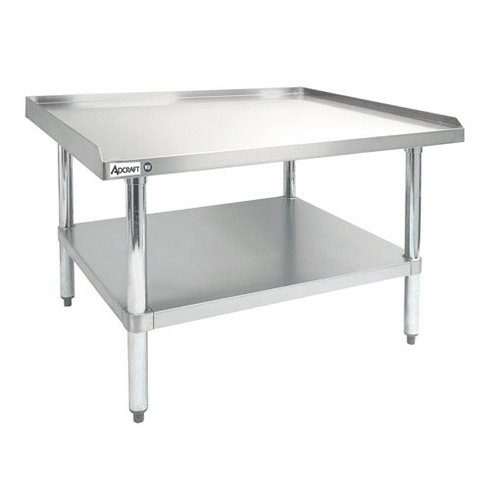 "Adcraft 30"" X 36"" X 24"" Stainless Steel Equipment Stand, Model# ES-3036"