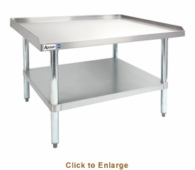 """Adcraft 30"""" X 36"""" X 24"""" Stainless Steel Equipment Stand, Model# ES-3036"""