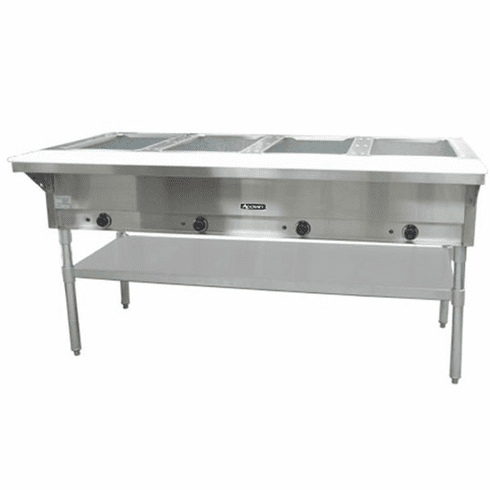 Adcraft 4 Bay Open Well Steam Table, Model# ST-240/4