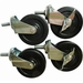 "Adcraft 4"" Casters Set Of 4 , Model# ES-1"