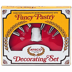 Adcraft 8 Pc Cake Decorating Set, Model# AT-334