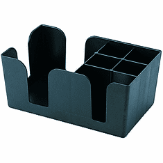 Adcraft Bar Organizer Black, Model# BO-1270
