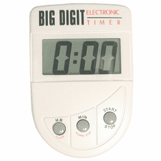 Adcraft Big Digit Timer 1 Min-20 Hrs, Model# BED-20