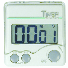 Adcraft Big Digit Timer 1 Sec-99 Min, Model# SMT-199