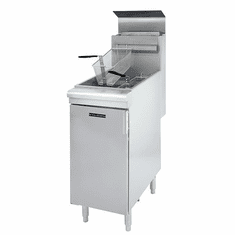 Adcraft Black Diamond Gas Fryer 120K Btu Lpg, Model# BDGF-120/LPG
