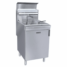 Adcraft Black Diamond Gas Fryer 150K Btu Ng, Model# BDGF-150/NG