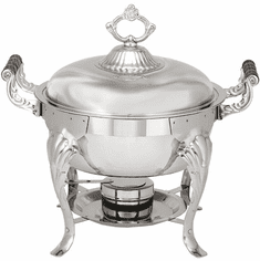 Adcraft Camelot 5 Qt Round Chafer, Model# CAM-5