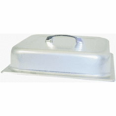 Adcraft Cover Dome S/S Half Size, Model# DC-200H