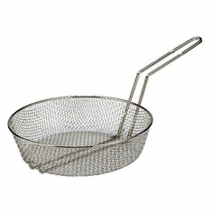 "Adcraft Culinary Basket 12"" Med Mesh, Model# CB-12M"