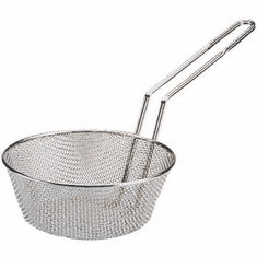 "Adcraft Culinary Basket 8"" Fine Mesh, Model# CB-8F"