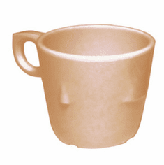 Adcraft Cup 7-1/2 Oz Stack Tan, Model# MEL-CS76T