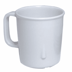 Adcraft Cup 7-1/2 Oz Tall Stack White, Model# MEL-CS76W