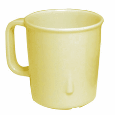 Adcraft Cup 7-1/2 Oz Tall Stack Yellow, Model# MEL-CS76Y