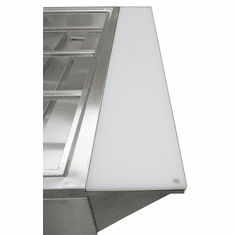 Adcraft Cutting Board and Stainless Steel Shelf for EST-240, Model EST-240/PCB