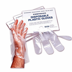 Adcraft Disp Gloves-Large 1000 Pk/Cse, Model# DG-10LC