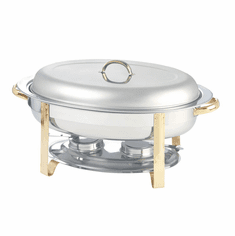 Adcraft Gold Plate Regent 6 Qt Chafer, Model# GRG-6