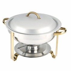 Adcraft Gold Plate Royale 4 Qt Chafer, Model# GRY-4
