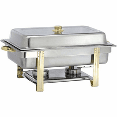 Adcraft 'Gold Riviera' Chafer Oblong, Model# GRV-8